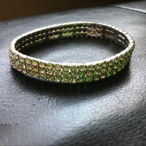 Jewelry - ❌SOLD❌Faux Diamond Elastic Fashion Bracelet